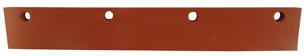 """SI Line – Silicone Refill Blade for the H-S """"Sizzler"""" Grill Squeegee"""