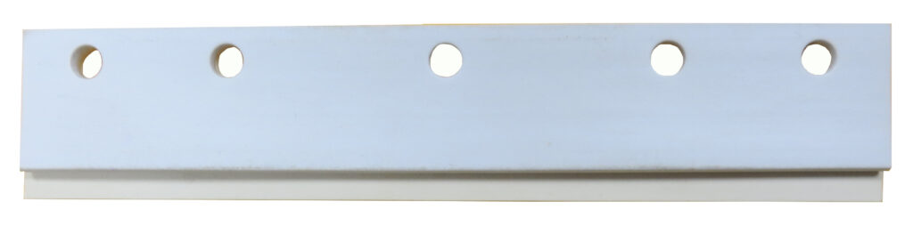 R Line – Off-White Neoprene and White Vinyl Squeegee Refill Blade for A Line