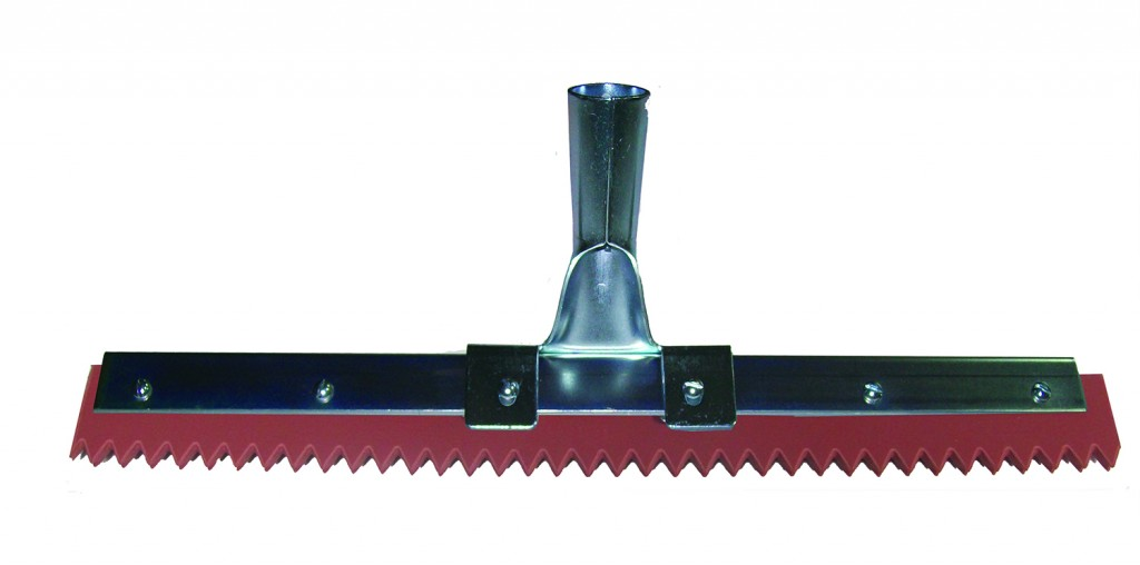 02100SE Line – Red EPDM Applicator Squeegee